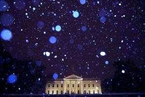 Η φωτογραφία της ημέρας: Χιονόπτωση στον Λευκό Οίκο!