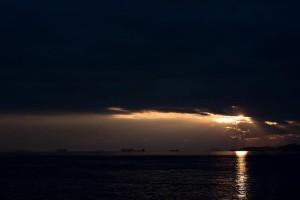 Η φωτογραφία της ημέρας: Ηλιοβασίλεμα στην Ράδα του Πειραιά!