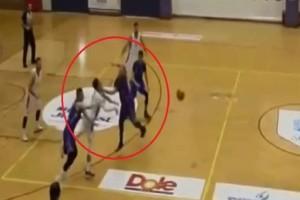 Σοκ σε αγώνα μπάσκετ στο Μαρούσι: Κινδυνεύει να χάσει την όρασή του από γροθιά! (video)