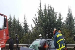 Τροχαίο σοκ στην Καβάλα: Αυτοκίνητο εξετράπη της πορείας του!
