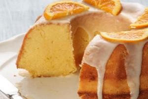 Εύκολο κέικ πορτοκαλιού χωρίς αυγά και βούτυρο!