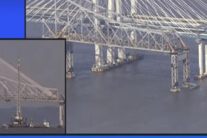 Απίστευτες εικόνες: Καρέ καρέ η κατεδάφιση γέφυρας στον ποταμό Χάντσον! (Video)