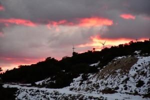 Η φωτογραφία της ημέρας: Καλημέρα σε όλους από τον χιονισμένο Κολοσούρτη!