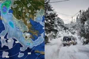 Έρχεται νέα κακοκαιρία να «χτυπήσει» την χώρα! - Καταιγίδες, χιόνια και σκόνη απ' την Αφρική!