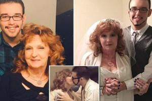72χρονη παντρεύτηκε 19χρονο που γνώρισε κι ερωτεύτηκε στην κηδεία του γιου της!