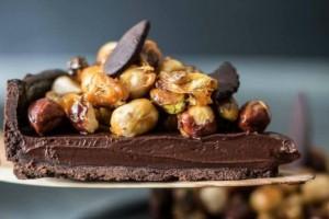 Τάρτα σοκολάτας με ξηρούς καρπούς!
