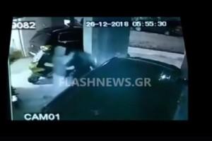 Σοκ στην Κρήτη: Άγριος ξυλοδαρμός γυναίκας - Βίντεο από τη στιγμή της επίθεσης
