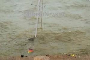 Κρήτη: Βυθίστηκε ιστιοφόρο στο λιμάνι εξαιτίας της κακοκαιρίας!
