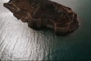 Απίστευτες εικόνες: Μοναδική βόλτα με drone στη Σπιναλόγκα! (Video)