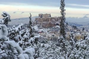 """Καιρός Αθήνα: Έρχεται η """"Ωκεανίς""""! Πότε και που θα χιονίσει στην Αττική!"""