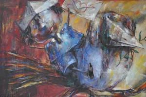 "Gagik Altunyan έκθεση ""Χρώμα – Χώρος, Ζωγραφική - Γλυπτική, 2010 – 2019"""