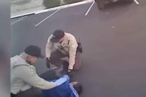 Ισλαμιστής έβγαλε μαχαίρι και όρμησε σε αστυνομικό! (video)