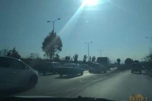 Θεσσαλονίκη: Τροχαίο με νταλίκα στο ύψος των Μουδανιών!