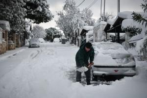 Σαρώνει την χώρα η κακοκαιρία «Χιόνη»! - Χιονοπτώσεις και άνεμοι έως 9 μποφόρ σήμερα!