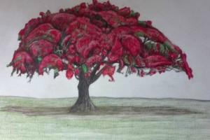 """Αμαλία Σταυρούλακη έκθεση ζωγραφικής """"Human Trees"""""""