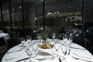 Τσικνοπέμπτη στο εστιατόριο του Μουσείου Ακρόπολης