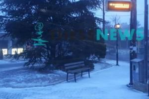 Θεσσαλονίκη: Χιονίζει  από τα ξημερώματα! Ποιοι δρόμοι έχουν κλείσει;