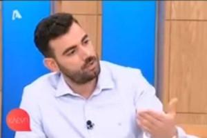 Νίκος Πολυδερόπουλος: Η απίστευτη ατάκα γιαγιάς για τον ρόλο του στο Τατουάζ! (video)