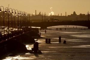 Η φωτογραφία της ημέρας: Καλημέρα από την παγωμένη Αγία Πετρούπολη!