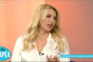 Κωνσταντίνα Σπυροπούλου: Τι είπε για το συμβόλαιό της με τον ΣΚΑΙ; (video)