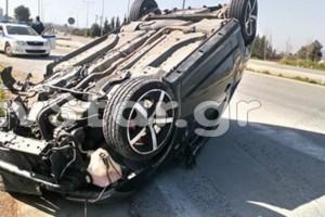 Σοκ στη Θήβα: Πλαγιομετωπική σύγκρουση αυτοκινήτων!