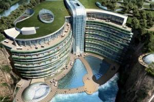 Το πρώτο ξενοδοχείο του κόσμου μέσα σε λατομείο!