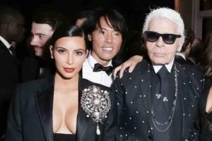 Η συγκινητική ανάρτηση αποχαιρετισμού της Kim Kardashian για τον Karl Lagerfeld