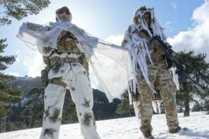 Καταδρομείς σε παιχνίδια «πολέμου» στο Τρόοδος (video)