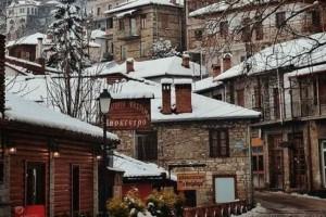 Η φωτογραφία της ημέρας: Βόλτα στο χιονισμένο Μέτσοβο!