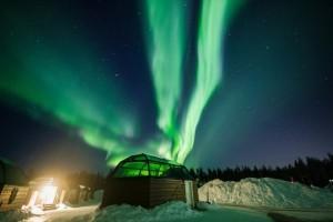 Η φωτογραφία της ημέρας: Το φαινόμενο Βόρειο Σέλας στο Ροβανιέμι της Φινλανδίας!
