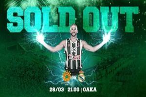 Euroleague: Sold out το Παναθηναϊκός - Ρεάλ Μαδρίτης!