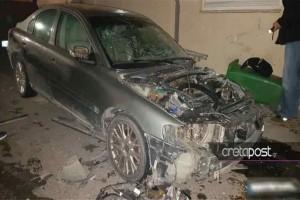 Kρήτη: Zημιές στο κέντρο του Ηρακλείου απο έκρηξη αυτοκινήτου!