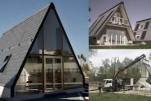 Αυτό το σπίτι χτίζεται σε 6 ώρες και κοστίζει μόλις 27.000 ευρώ!