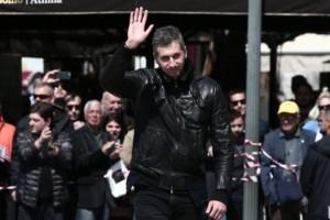 Συντετριμμένος ο Δημήτρης Διαμαντίδης στην κηδεία του Θανάση Γιαννακόπουλου!