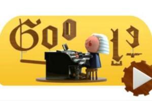 Γιόχαν Σεμπάστιαν Μπαχ: Η αφιέρωση της Google στο σημερινό της Doodle!