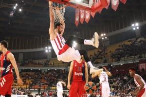 Euroleague: Διέλυσε την Μπάγερν ο Ολυμπιακός!