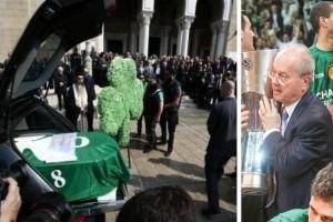 Η μπασκετική (και όχι μόνο) Ελλάδα και Ευρώπη αποχαιρέτησαν τον Θανάση Γιαννακόπουλο! (photos+video)