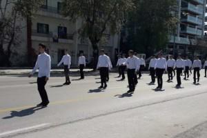 Θεσσαλονίκη: Δυνατό ήταν το μήνυμα των μαθητών φωνάζοντας συνθήματα για τη Μακεδονία!