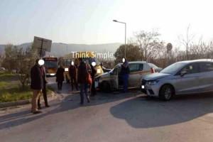 Θεσσαλονίκη: Καραμπόλα τριών οχημάτων στην περιοχή της Πολίχνης!
