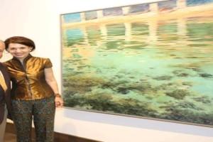 """Χρύσα Βέργη: Ατομική έκθεση με θέμα """"Η κυριαρχία του υδάτινου στοιχείου""""!"""
