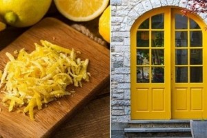 Εσύ βάζεις έξω από την εξώπορτα σου φλούδες από λεμόνια; Μάθε γιατί πρέπει να το κάνεις!