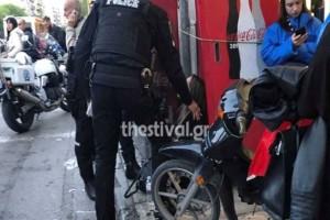 Θεσσαλονίκη: Πέταξε τη σύζυγό του έξω από το αυτοκίνητο και έφυγε!