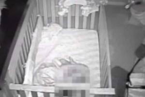Έπαθαν σοκ όταν είδαν τι είχε καταγράψει η κρυφή κάμερα στο δωμάτιο του μωρού τους!