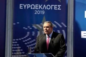 Ευρωεκλογές 2019: Μέχρι και κανίς...έκανε πρωταγωνιστή ο Καμμένος! (Video)