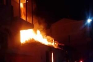 Κοζάνη: Έσωσαν ηλικιωμένη απο φωτιά σε σπίτι! (Video)