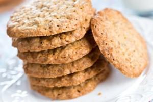 Εύκολα και νόστιμα μπισκότα με ταχίνι νηστίσιμα!