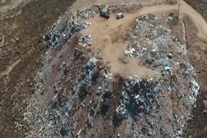 Μύκονος: Η παράνομη χωματερή που απειλεί το οικοσύστημα του νησιού! - Βουνό από σκουπίδια! (Video)