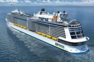 Το μεγαλύτερο κρουαζιερόπλοιο στον κόσμο βρίσκεται στον Πειραιά!