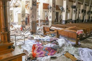 Σρι Λάνκα: Έκρηξη κοντά σε εκκλησία!