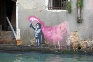 Μυστήριο στη Βενετία: Τελικά αυτό το γκράφιτι ανήκει στον Banksy;